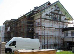 suhomontažni sistem in izdelava fasade